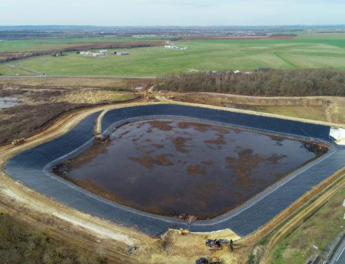 Renaturation d'un plan d'eau industriel